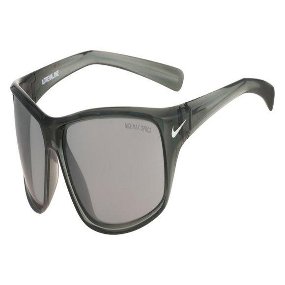 Nike Wraparound Men Grey/Silver Plastic Frame